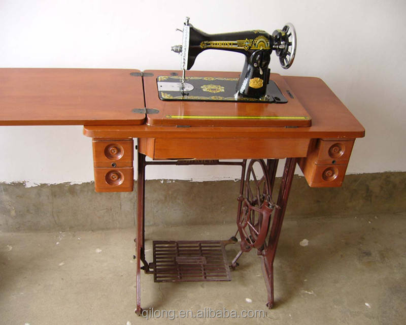 5-drawer table household sewing machine wooden table and stand