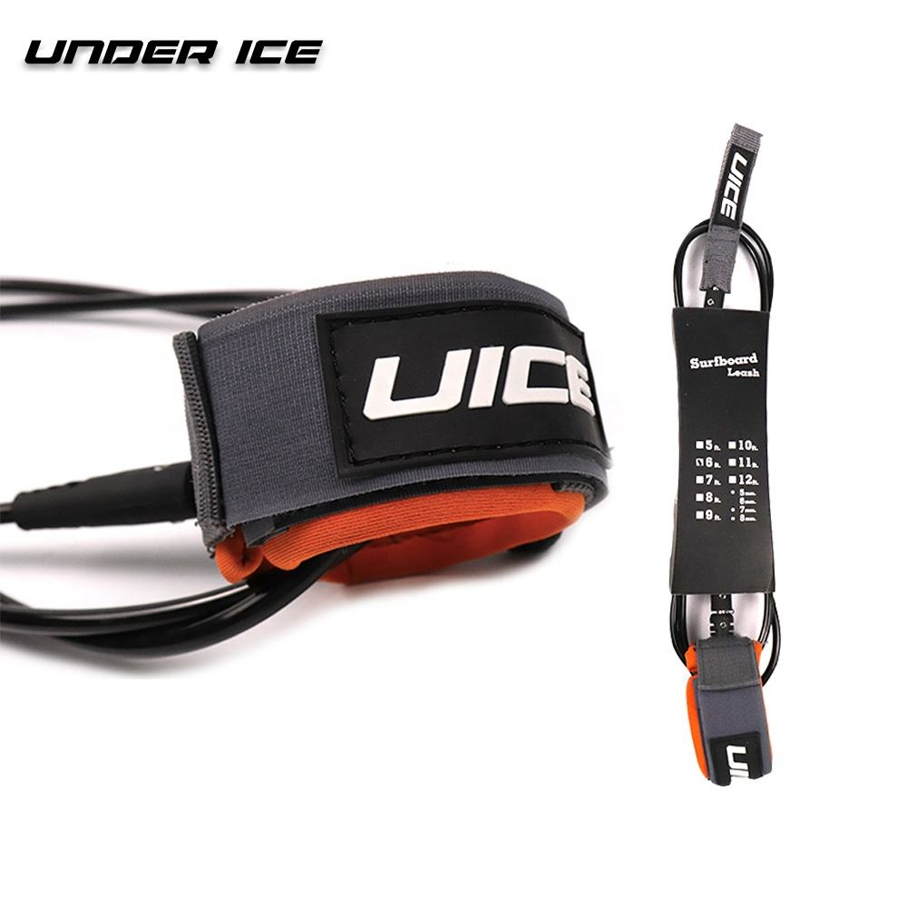 Uice Pro <span class=keywords><strong>Surf</strong></span> Leash 7 '/8'/9 '/10' <span class=keywords><strong>Surf</strong></span> Been Touw Surfboard Leash klaar Voor Custom Logo