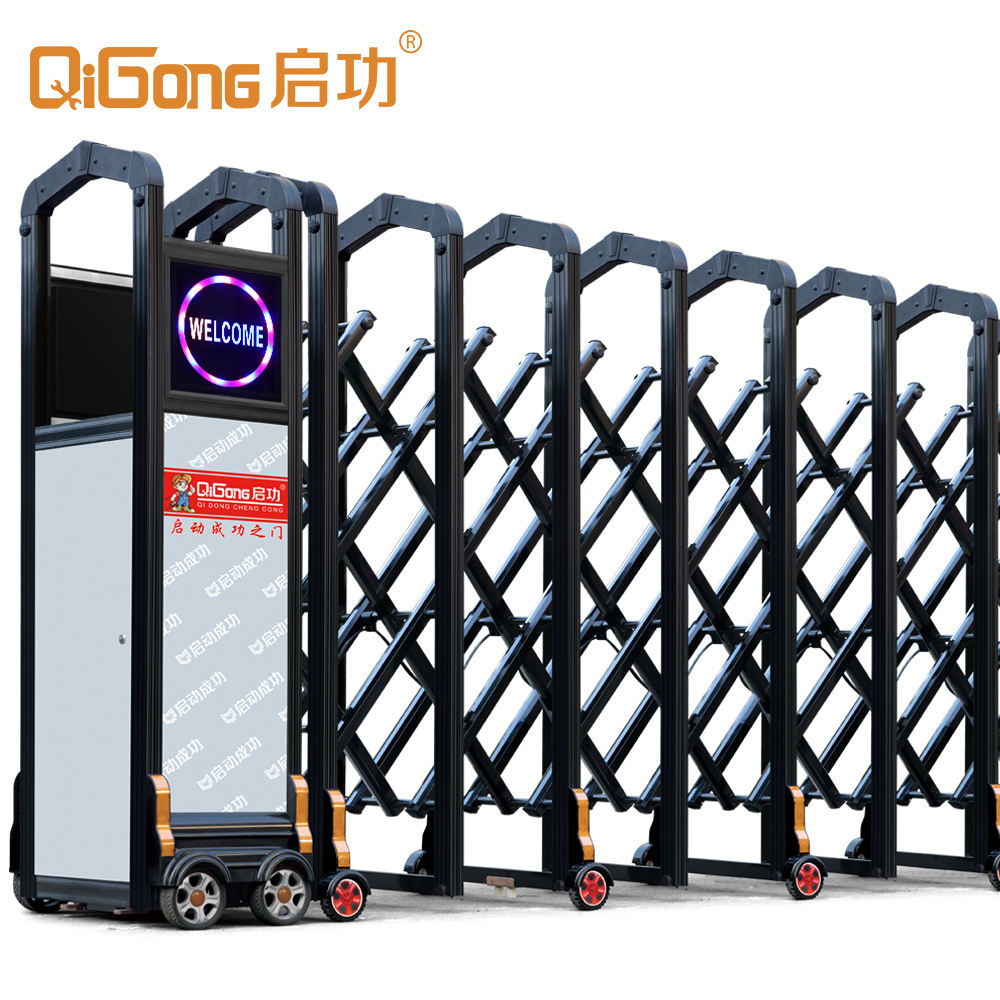 High Quality Security Retractable Driveway Folding Gate