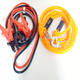 Auto Road Emergency a Set of 3M 400Amp Power Booster Car Jumper Cable and 4M 2.5T High Strength Towing Rope Car Tow Straps