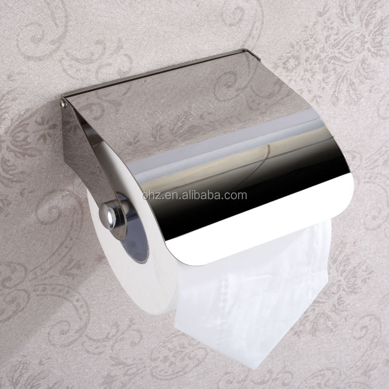 Cheap Price Bathroom furniture Stainless steel toilet paper holder for kitchen tissue paper roll holder