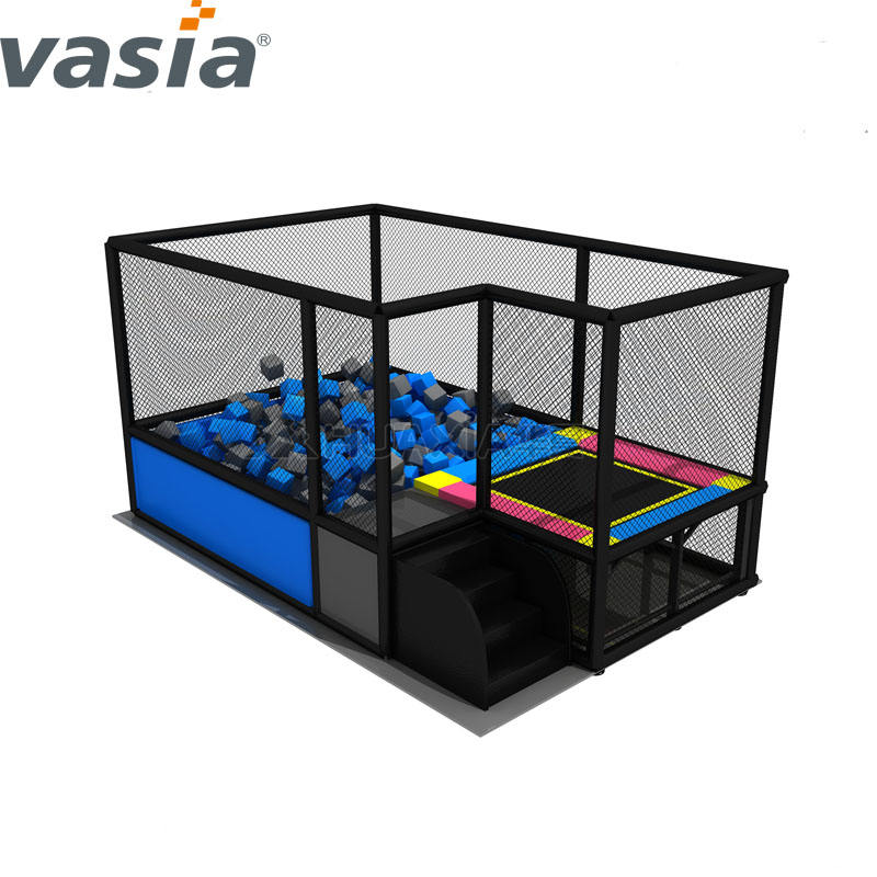Hot sale indoor trampoline park,jumping bed for children