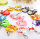 2018 new hot items gifts Eco friendly decoration pendants keychains custom soft pvc rubber cartoon key chain ring made in china