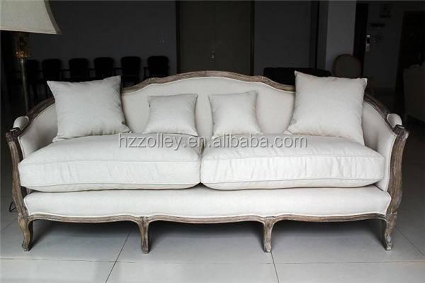 Lino sofá chesterfield caliente venta ikea sofá de la sala de madera salón sofá