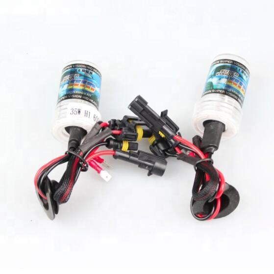 Auto accessaries Good price hid xenon bulb h1 4300k 6000k 8000k auto car hid xenon lights