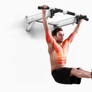 Nieuwe Wall Mounted Chin Up Pull Up Horizontale Bar 3 In 1
