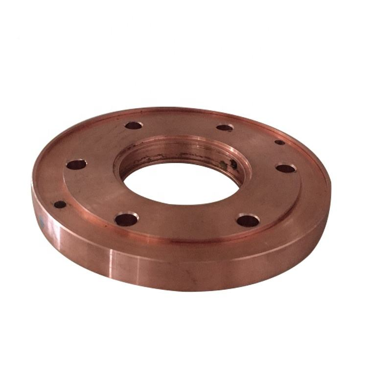 copper alloy electrode wheel used in seam welding machine