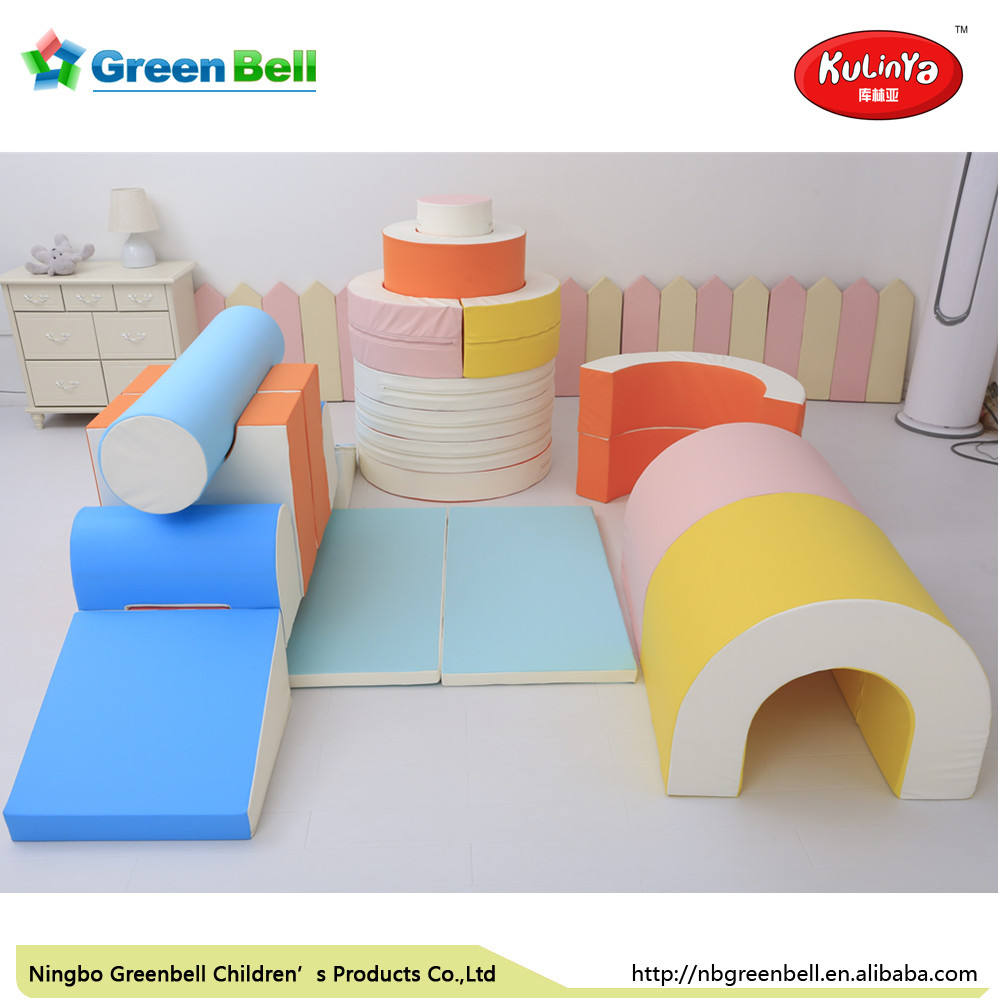 Baby indoor soft play equipment Eco-friendly PU foam Children Soft Play