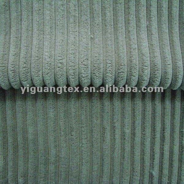 Cadeneta 2.5 amarillo recta de pana tela para el sofá y( precio barato)