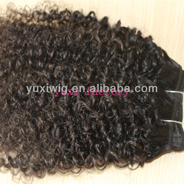 rsd hand tied weft indian virgin kinky curly hair