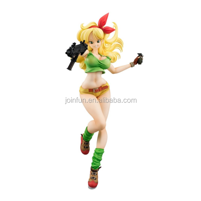 Custom make anime pvc girl figures, customized high detail pvc girl figures