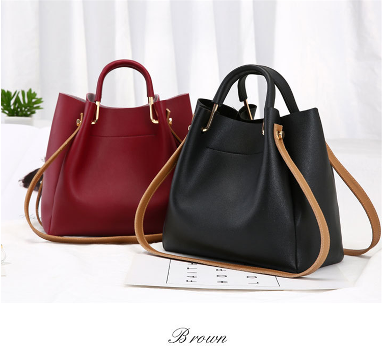 Sac a Main Diagonal handbag New in 2019 Bucket Bag