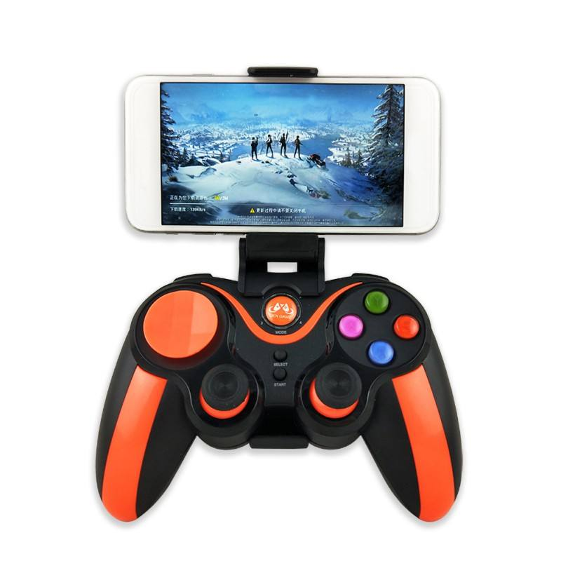 NEW S5 Plus Wireless Bluetooth 4.0 Joystick Game Controller For Android/IOS/Win Joypad