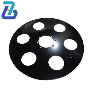 high quality carbon steel flame cutting parts metal sheet fabrication service laser cutting metal parts