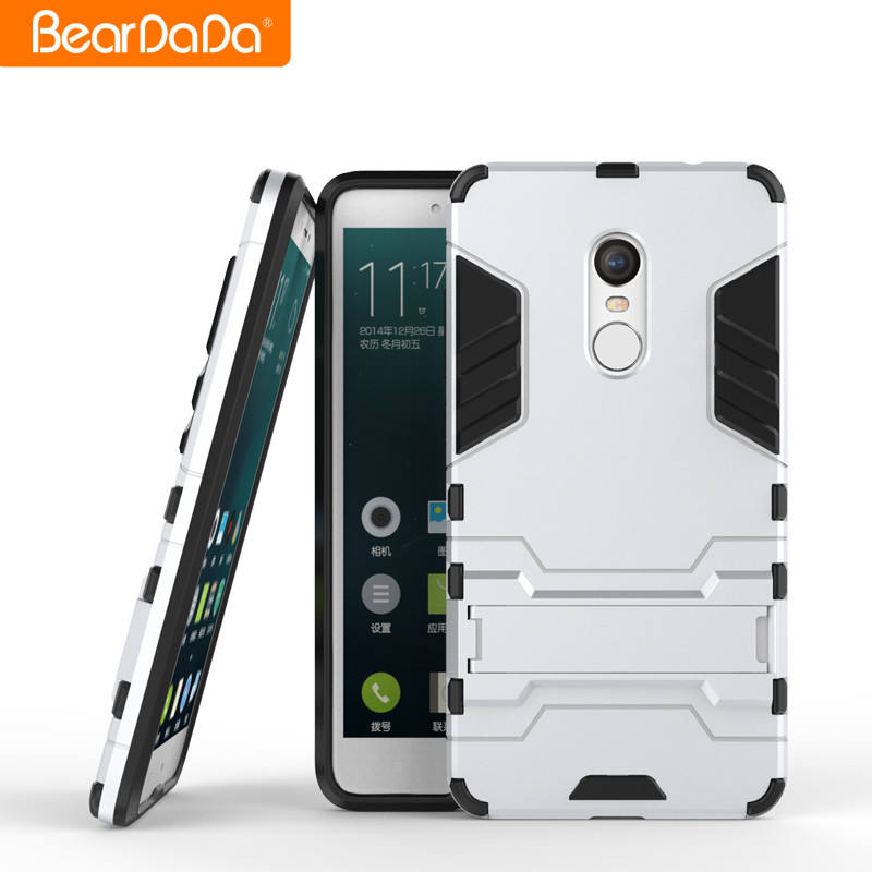 High Quality Design tpu pc mobile phone back case cover for xiaomi redmi note 4