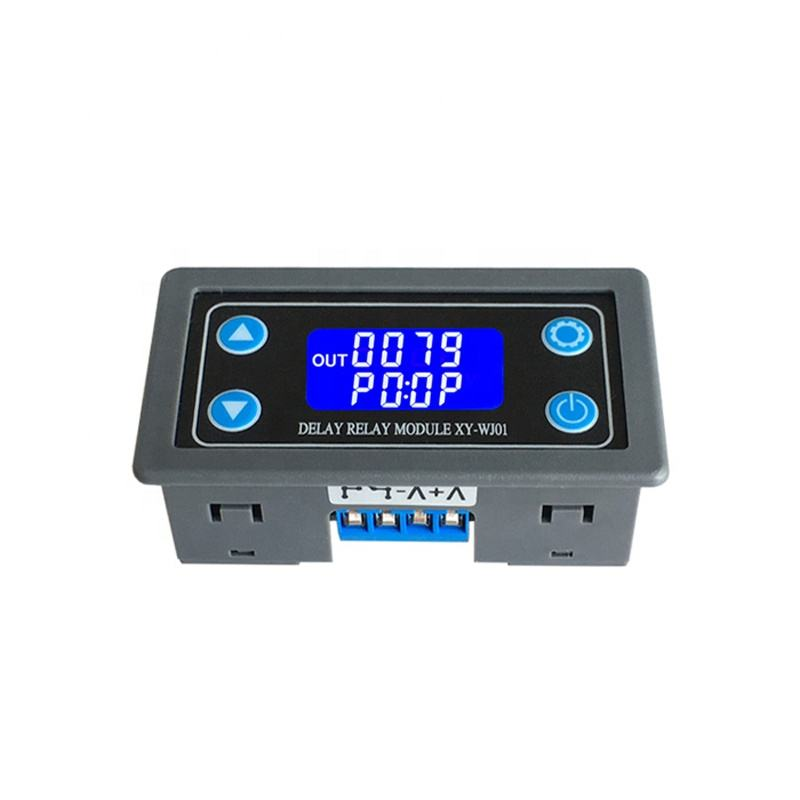 XY-WJ01 one-way relay module cycle trigger delay power off delay timing circuit switch 12/24V