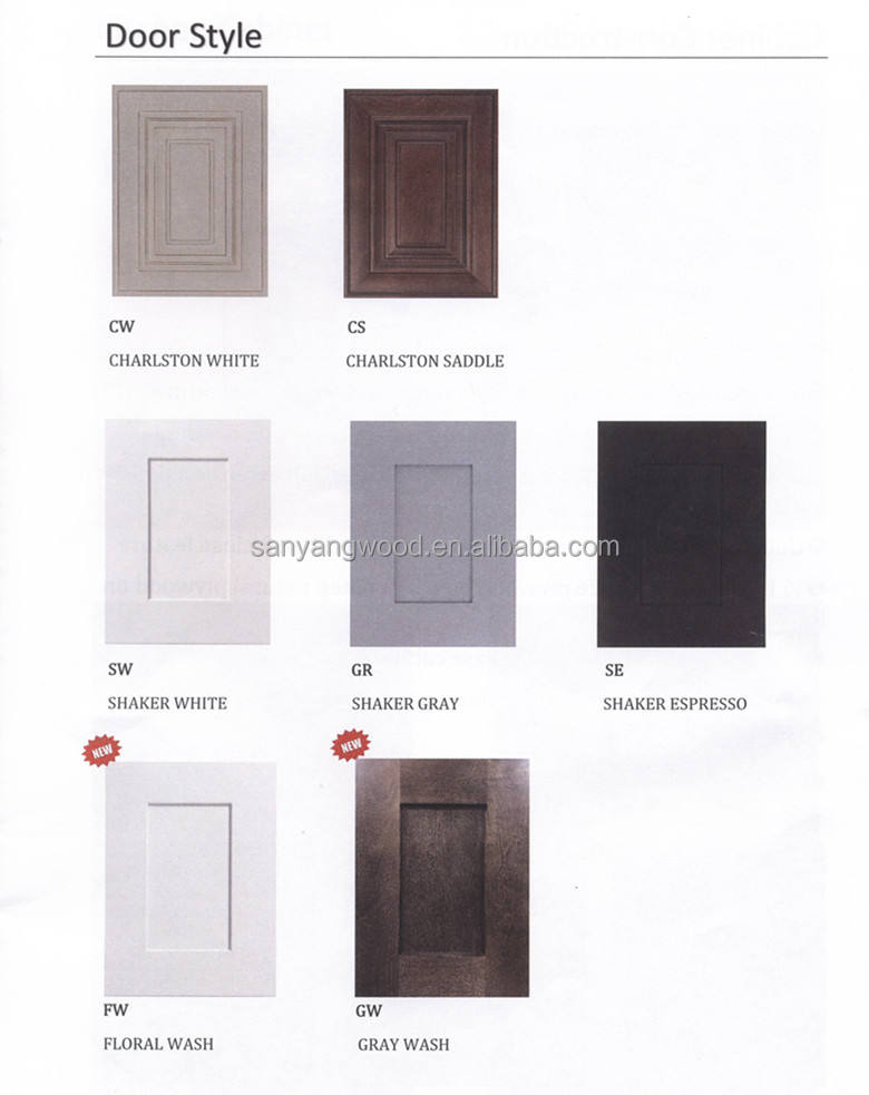 china kitchen cabinet factory supplier for amerian standard style Rta kitchen cabinet
