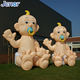 Giant Inflatable Baby Cartoon Character Inflatable Infant Child for Advertising