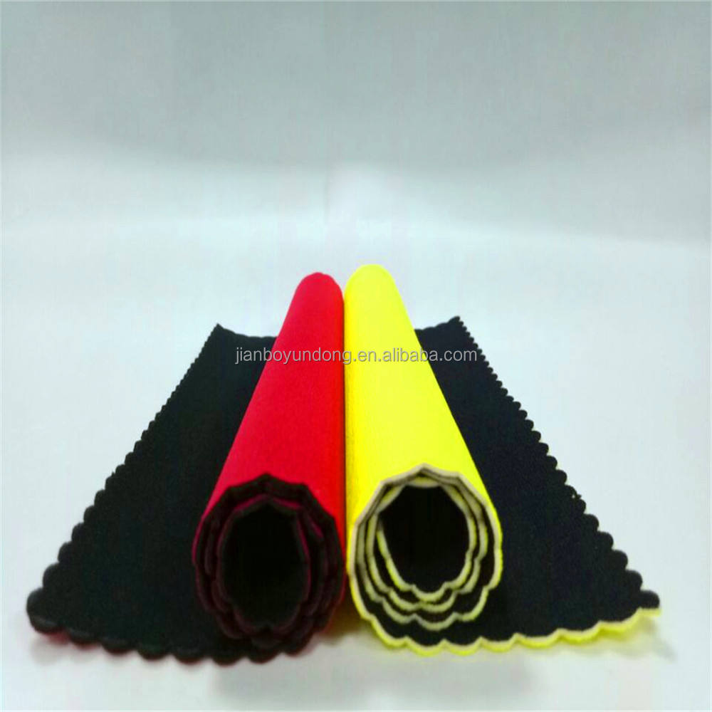 Jianbo Neoprene Laminated Elastic Fabric for Wetsuit Sportswear Fabric Material
