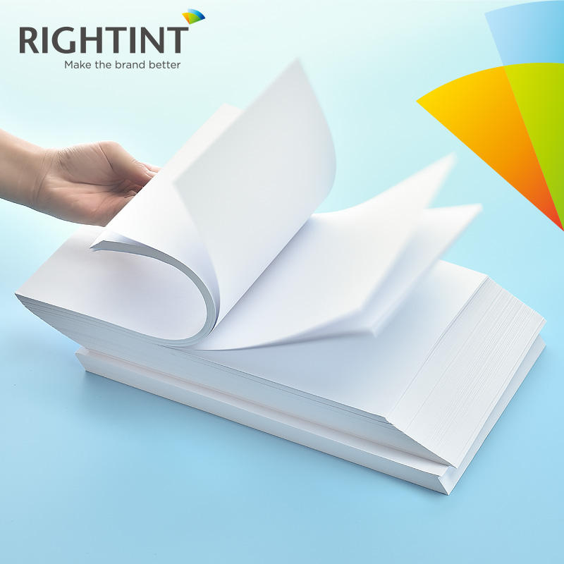 Sticker Paper A4 Inkjet Label Sticker Paper Glossy PP Synthetic Paper For Stationery