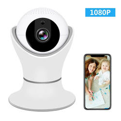 Hot Sell Night Vision Activity Detection Alert Baby Monitor Wifi Video Camera with iOS Android App For Home Office