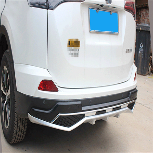 Front and rear bumper protector guards skid plate for Toyota RAV4 2016-2018 4x4 auto accessories manufacturer
