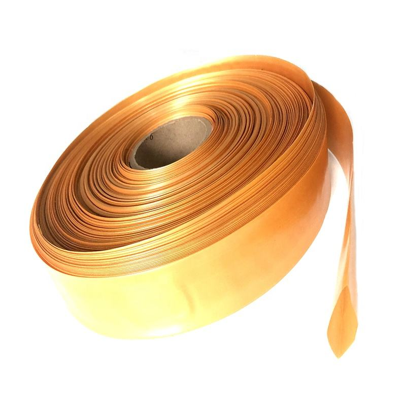 ID30mm Gold PVC heat shrink sleeving