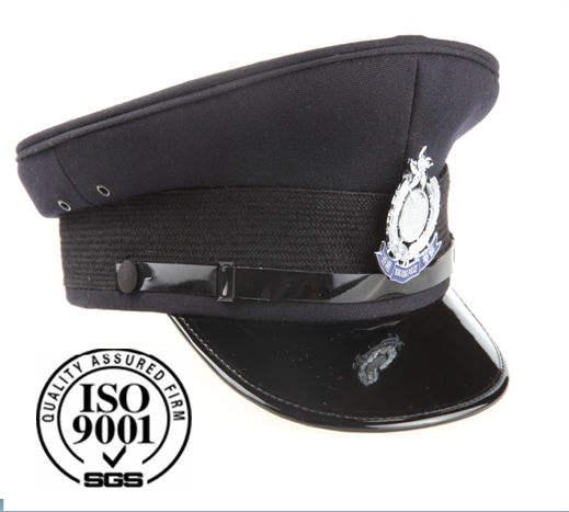 Unisex Black Chauffeur Hat Ladies Gents Driver Stag Hen Fancy Party Hat