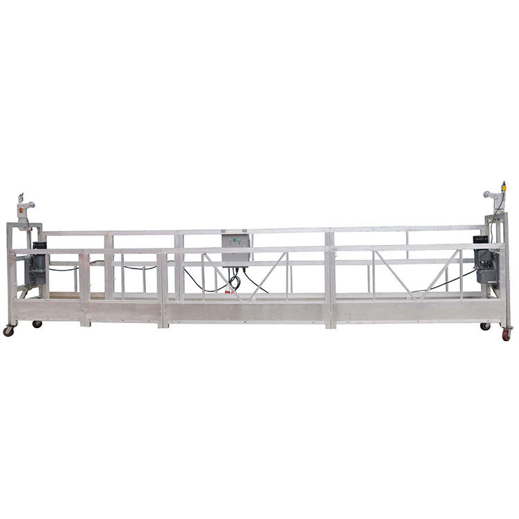 zlp aluminum construction suspended aerial work platform cradle