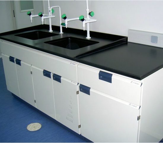 Customer Made Steel Wooden PP Material Available Sink Table--labs Hospital Industry Fields Furniture