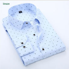2018 new style long sleeve men's fashion casual business formal shirts
