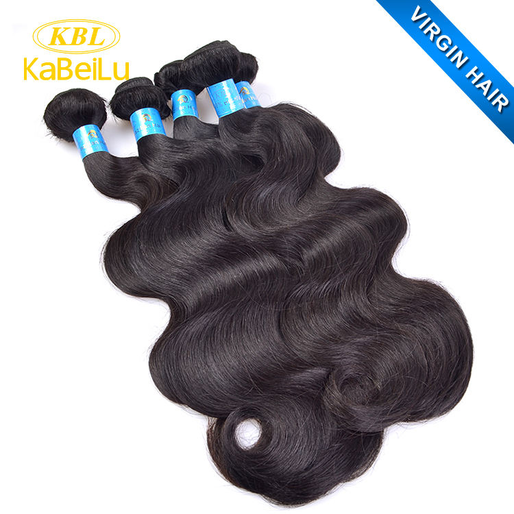 100% KBL Wholesale Human Virgin Brazilian Remy hair