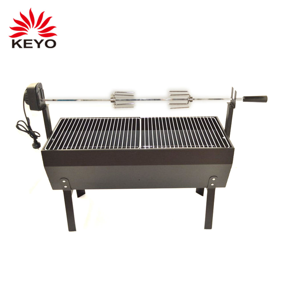 automatic rotating spit lamb pig roaster Outdoor Charcoal Spit Roaster grill for sale