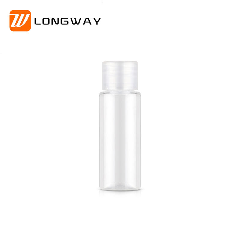 Wholesale 20ml Plastic PET Clear Container toner Bottle with Screw Cap