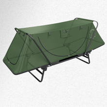 The single double fishing equipment is free from camping and fishing tents.