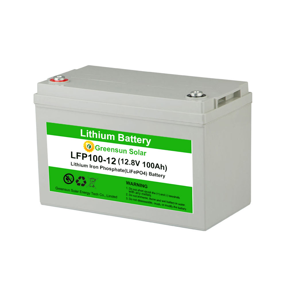 Deep Cycle Rechargeable Lithium ion Lifepo4 12V 100Ah 150ah 200ah 250ah 300ahLithium Battery