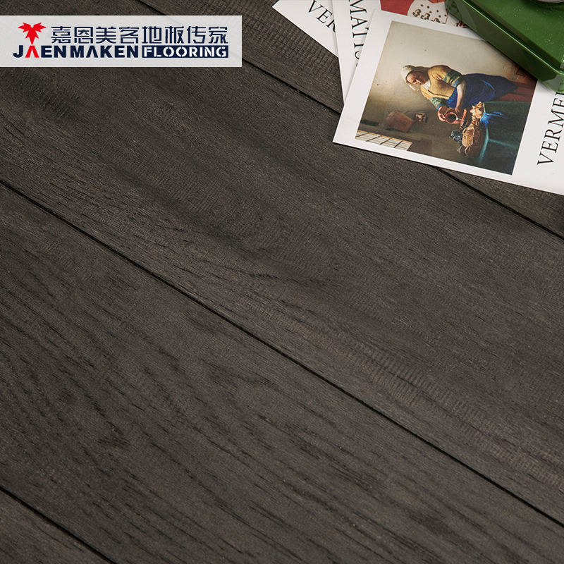 18/2 x 152 Indoor Antique and Distressed Multi-layer Engineered Hickory Wood Harmonics Flooring