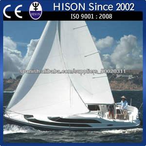 hison fábrica de venta directa de la costera de alta velocidad de barco de vela equipamiento yate