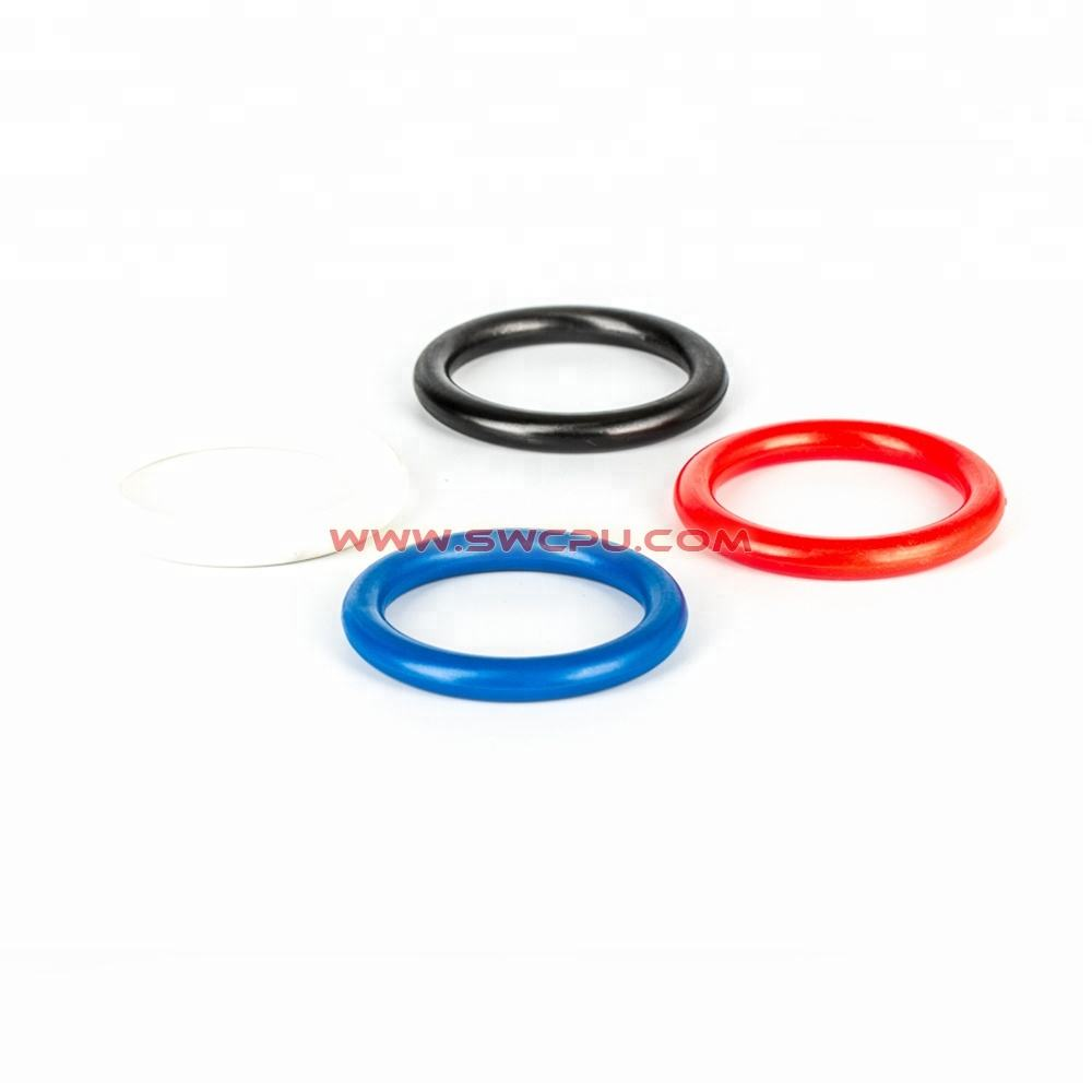 Injection Molding Custom Hard ABS Circle OEM Colored Engineering Craft Use Plastic Ring