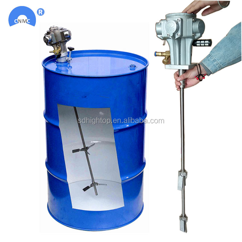 Industrial application small chemical liquid drum mixer agitator machine