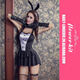 Sexy Bunny French Maid Sexy Adult Costume