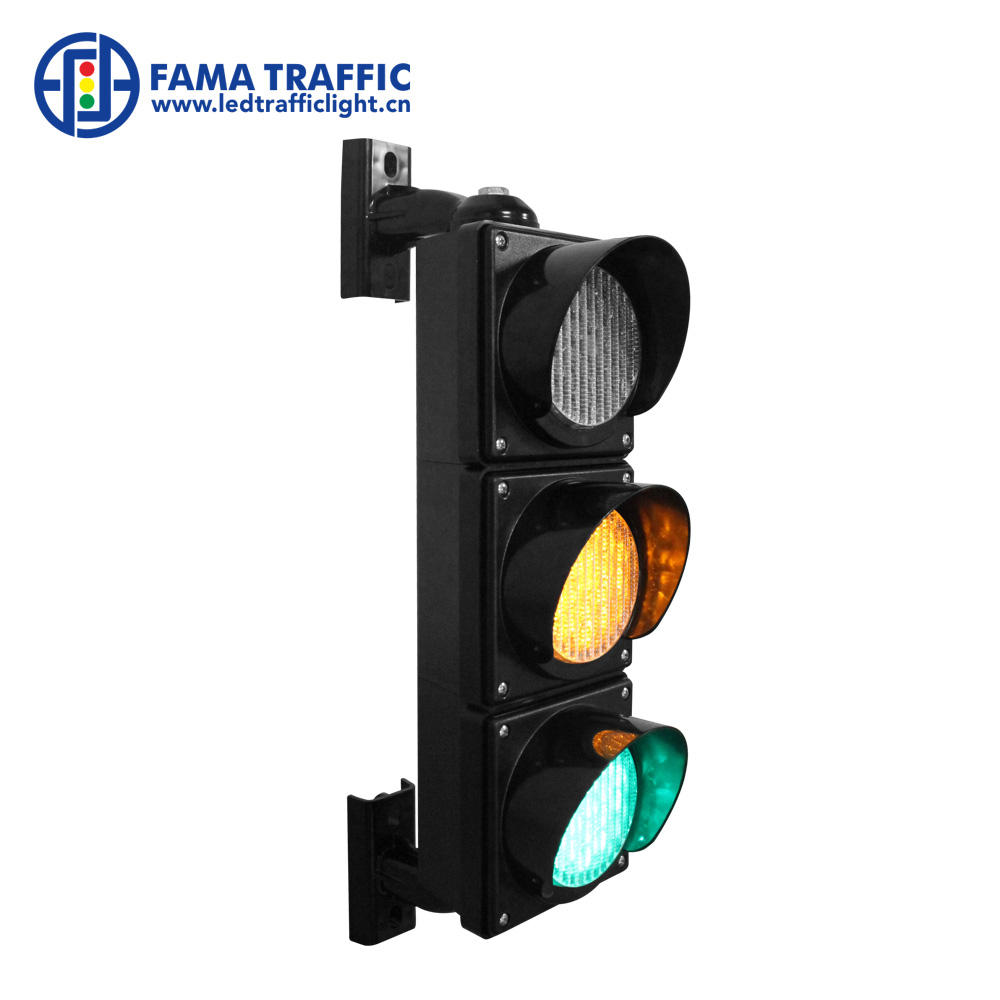 Polycarbonate House 100mm Red Yellow Green Mini LED Traffic Light