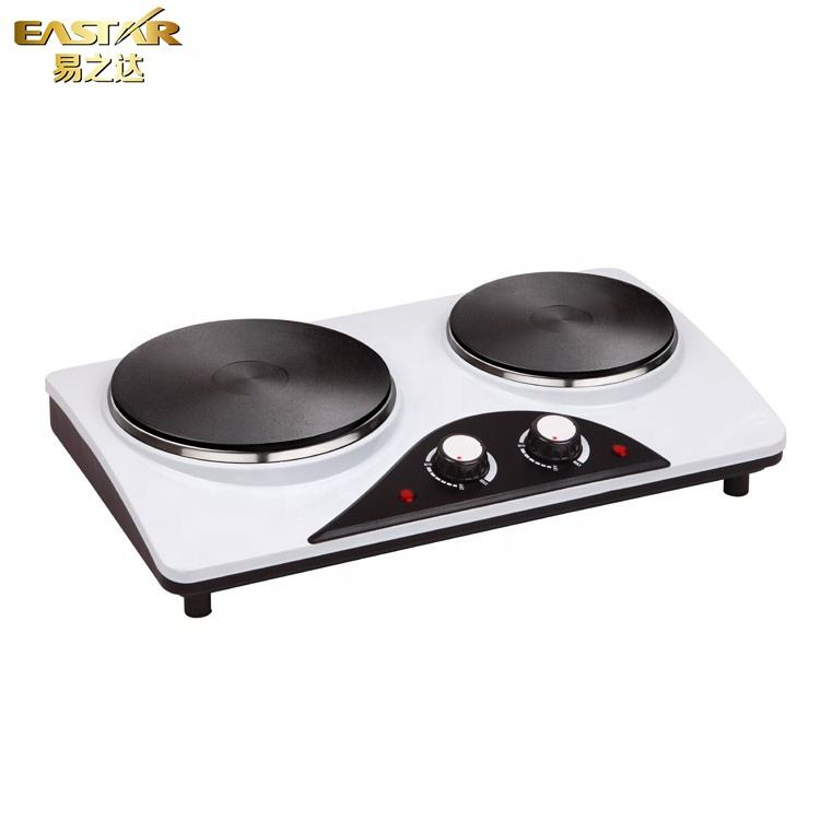 Kitchen appliance industrial stove 2 burner cooktop cooking electric hot plate