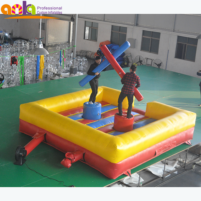 Outdoor inflatable fighting arena/Inflatable jousting platform /inflatable fighting game for adult