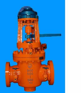 High Temperature and High Pressure Wear Resistant Pneumatic Plug Valve