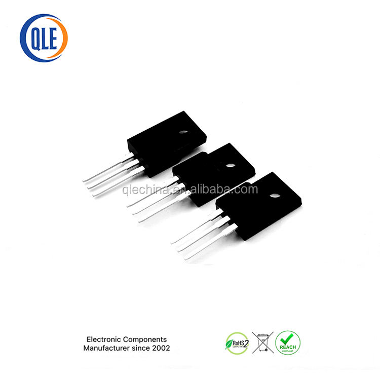 10A 650 V 10N65 TO-220F Factory Direct Supplier Fast 스위칭 Power Mosfet mosfet 증폭기 board