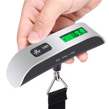 110lb 50kg Outdoor travel weighing small electronic fishing scales T - scale Portable electronic baggage scales CA5795