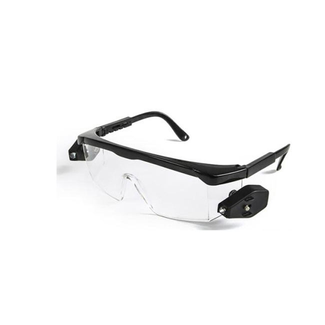 new style Safety glasses with led light eye protection glasses safety goggles light
