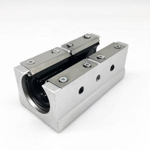 Low price round aluminum support linear guideway rail SBR20 linear block SBR20UU SBR20LUU linear slide block