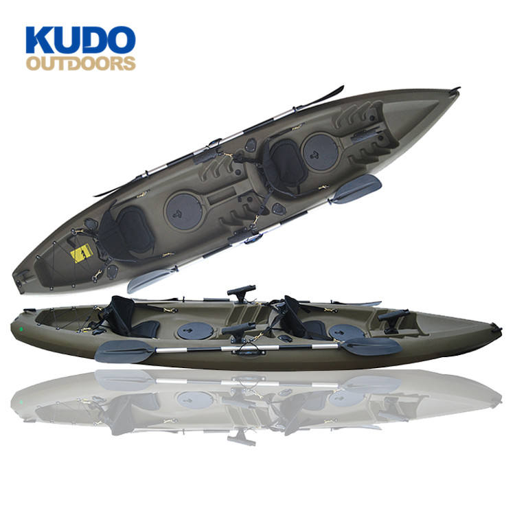 2019 New Design 3.8M Australia Fishing Kayak Top With Accessories